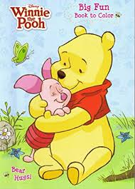 4pk Disney S Winnie The Pooh Coloring Book 96 Page Each