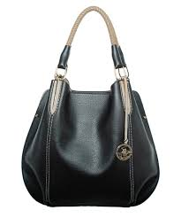 Designer Slouch Bags Black Beige Slouch Shoulder Bag Sale Beverly Hills Polo