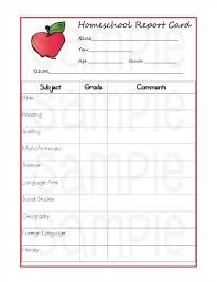 Printable Progress Reports For Elementary Students 5 Reasons Homeschoolers Should Use Report Cards Printable