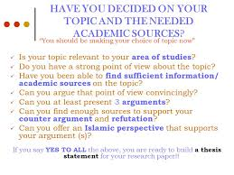 le english for academic purposes ppt  have you decided on your topic and the needed academic sources