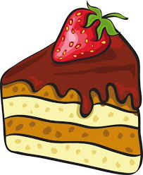 piece of chocolate cake clipart. Fine Chocolate Piece Of Chocolate Cake With Strawberry Stock Vector  7908825 And Piece Of Chocolate Cake Clipart L