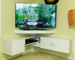 flat screen tv corner wall mount with shelf pertaining to corner wall tv stand