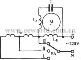 index 92 basic circuit circuit diagram seekic com the winding tap t connection three speed circuit of single phase motor