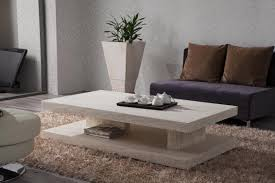 marble white coffee table modern sets