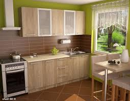 Kitchen:Splendid Japanese Kitchen Decor Ideas With Beige Wall Painting  Mixed With Wooden Stool Also
