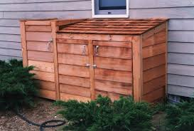 outdoor garbage can storage home depot garbage can enclosure plans small outdoor storage wooden garbage bin designs