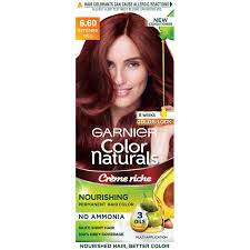 Garnier Color Naturals Shades Chart Garnier Color Naturals Creme Hair Color Plum Red