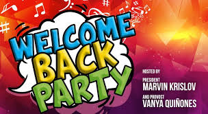 Welcome Back Graphics Welcome Back Party 2019 Current Students September 12