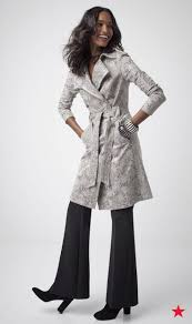 snakeskin print faux leather trench coat
