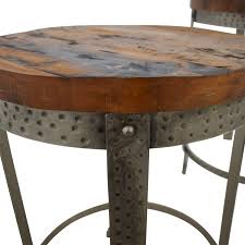 From colorful designs to wood styles, these are the best picks for your home. 60 Off Rustic Wood And Metal Uneven Round Coffee Tables Chairs