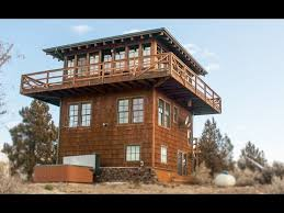 Forest Fire Lookout Tower House, Amazing Small House Design