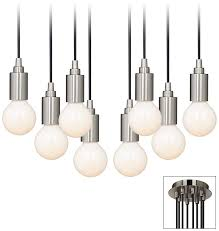 Hanging light bulbs Edison Bulb Hanging Light Bulb Pendant Lamps Plus The New Look In Ceiling Lights Hanging Light Bulb Fixtures Ideas