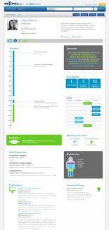 Beyond.com Infographic Portfolio / Resume Infographic