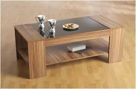 dark wood coffee table with glass top cocinacentralco  jericho