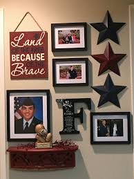 Marvelous Perfect Decor Idea For Your Special Soldier, And It Fits In A Small  Apartment Or Hallway!