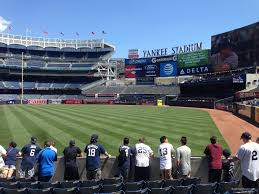 Yankee Stadium Section 109 New York Yankees