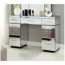 mirrored furniture next. Tremendeous RIO Mirrored Dressing Table Console 7 Drawer Mirror Furniture EBay Next