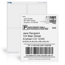 Large Mailing Labels