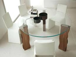 glass kitchen tables round glass top dining tables with wood base design impressive amazing good beautiful