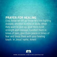Prayer For Healing Crafts Praye