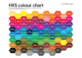 Printing Colour Chart Hks Colour Chart Color Prints Color Theory