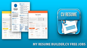 Cv Resume Professional Resume Builder Cv Maker Free 2017