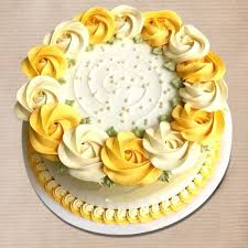 Send Designer Floral Cake Online By Giftjaipur In Rajasthan