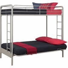 DHP Twin Over Futon Metal Bunk Bed Multiple Colors Walmartcom