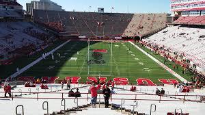 Nebraska Football Field Seating Chart Memorial Stadium Nebraska Section 36b Rateyourseats Com