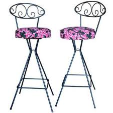 wrought iron swivel bar stools. Simple Swivel Vintage Wrought Iron Swivel Bar Stools  A Pair For Sale Throughout Y