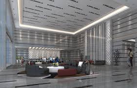 Holiday hotel lobby interior design