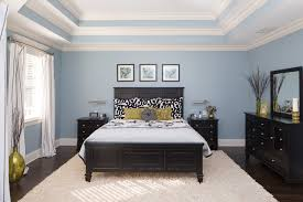 Master Bedroom With Triple Tray Ceiling Traditional Bedroom