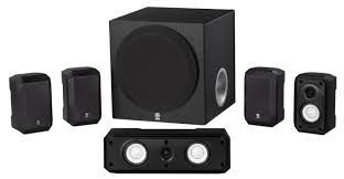 speakers 5 1. yamaha ns-sp1800 5.1 speaker system w/ 8 speakers 5 1 c