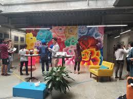 facebook menlo park office. Flower Wall On Main Campus - Facebook Menlo Park, CA Park Office