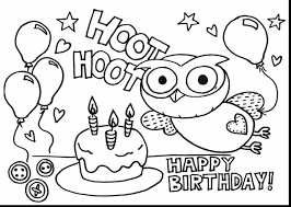 Small Picture awesome happy birthday coloring pages with cake coloring pages