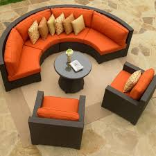 north cape melrose wicker patio sectional set patios backyard and regarding eco friendly sectional sofa