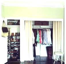 closet door curtains ideas pictures of