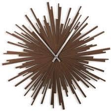 Motif Starburst Modern Wall Clock