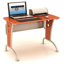 Techni Mobili Rolling, Swivel and Adjustable Laptop Cart With Storage,  Black - Walmart.com