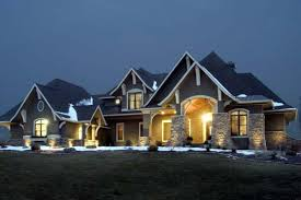 4 car garage house plans. Craftsman House Plan 92351 Elevation 4 Car Garage Plans