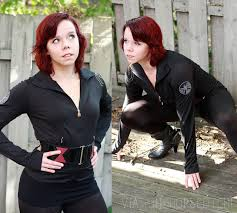 avengers black widow costume diy photo 1