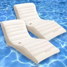 inflatable pool furniture. Amazon.com: Intex Wave 76\ Inflatable Pool Furniture N