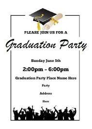 Free Graduation Party Invitation Templates For Word Luxury 27 Luxury