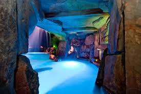 Luxury Backyard Swimming Pool Waterfall Design Bergen County Nj