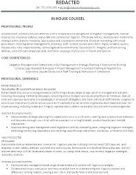 Contract Attorney Sample Resume