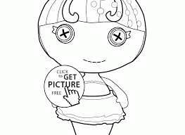 Lalaloopsy Coloring Pages For Girls Printable Kids Peanut Big Top