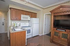 In Room Kitchen At Westgate Palace A Two Bedroom Condo Resort