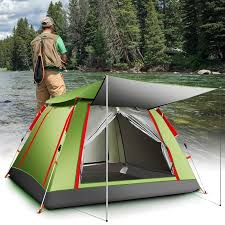 UV <b>Sunscreen</b> Fishing Tent 5/<b>8 Person</b> Fish Tents Automatic ...