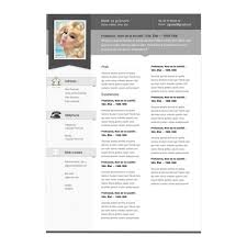 Sample Resume Format For Fresh Graduates One Page Template Free