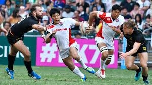 japan gained a berth in next year 39 s sevens world series with a